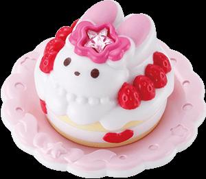 うさぎショートケーキ